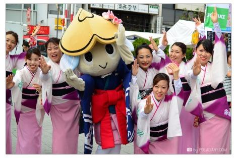 บรรยากาศงานเทศกาล koenji awaodori2014